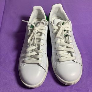 Adidas Stan Smith Green Like New Size 8